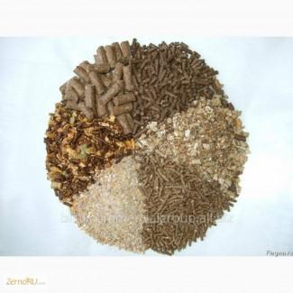 Комбикорм от производителя. Зерно в мешках. Пшеница, Овес, Ячмень, Зерносмеси