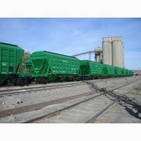 Перевозка зерна в вагонах-зерновозах