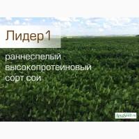 Семена сои сорт Лидер1 РС1