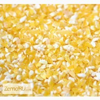 Кубанская кукуруза: дробленая, молотая