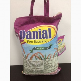 Оптом рис длинно зерный Басмати Даниал
