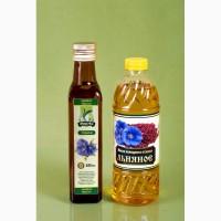 Продам масло холодного отжима льняное