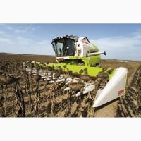 Уборка зерновых, подсолнечника комбайном импортного производства
