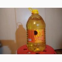 Рафинированное подсолнечное масло с завода