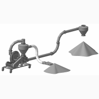 Пневматический Транспортер для Зерна ПТЗ-15