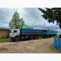 Предлагаем услуги по перевозке сельхоз продукции