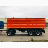 Самосвальный автопоезд КАМАЗ 65115 с трехосным прицепом