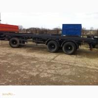 Шасси грузового прицепа СЗАП/НЕФАЗ 3-хосное