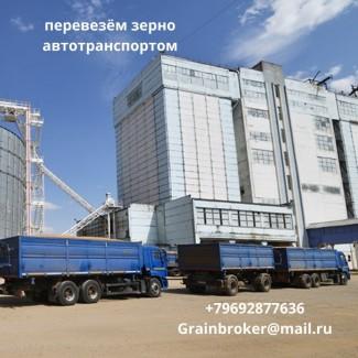 Перевезем зерно автотранспортом