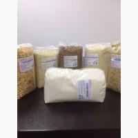 Оптом крупы (гречневая, манная, горох, рис, ячневая) фасованные 800 гр
