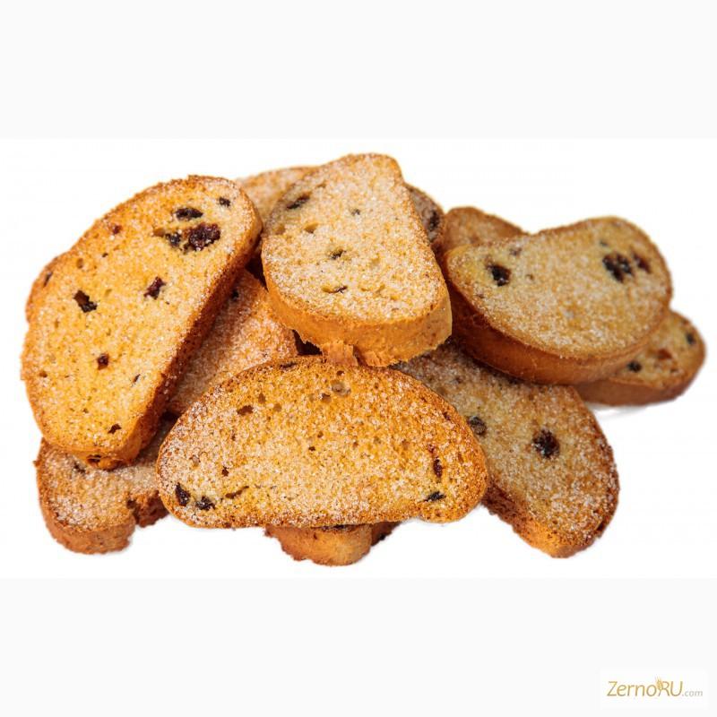 Фото 2. Продажа сушек, сухарей, овсяного печенья от производителя