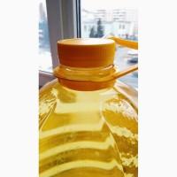 Масло подсолнечное рафинированное высший сорт. Налив