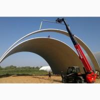 Строительство каркасных и бескаркасных ангаров, хранилищ, складов