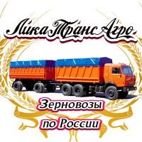 Перевозка зерна по России 100 ед. зерновозов